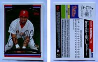 Danny Sandoval Signed 2006 Topps #306 Card Philadelphia Phillies Auto Autograph