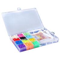 13 Gitter Baby Spielzeug 5mm Perle Perlen Box Set DIY Perlen Bunte Kinder G/S
