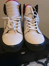 supra skytop white/black/red-black