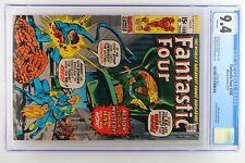 Fantastic Four #108 - Marvel 1971 CGC 9.4 Nega-Man Appearance. Annihilus cameo o