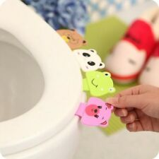 2 pcs Portable Cartoon Toilet Cover Lifting Device Convenient Bathroom Products
