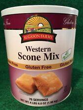 Augason Farms Scone Mix #10 Can 4 lbs 6 oz Gluten Free 75 Servings Survival Food