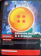 A705 CARTE DRAGON BALL Z - DRAGON BALL A 4 ETOILES - DB- 391