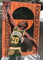 1995-96 Flair NBA Hardwood Leader Card #25 of 27 Gary Payton Seattle Supersonics