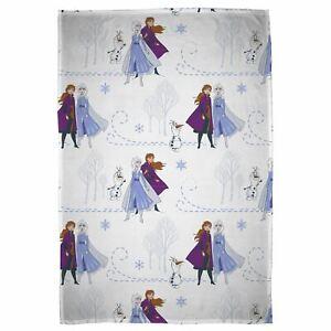 Disney Frozen 2 Couverture Polaire Voyage Haute Qualité 100cm x 150cm