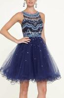 Brand New Short Beaded Prom Dress Evening dress Cocktail New 2-10 in Stock