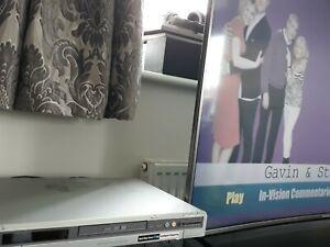 Sony RDR-HX510 DVD Hard Drive Recorder HDD 80GB Optical RW R Silver