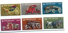 New Zealand-Vintage Farm Transport-set mnh-wagons-lorry-cart