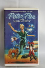 Peter Pan Starring Mary Martin VHS Movie 1990 30th Anniversary Broadway Musical