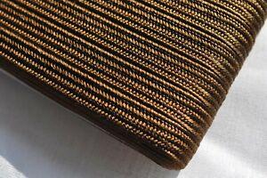 8mm Japanese silk tsuka-ito, brown