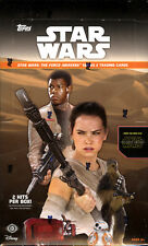2016 Topps Star Wars The Force Awakens Series 2 Factory Hobby Box- 2 Hits
