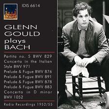 J.S. Bach / Gould / - Glenn Gould Plays Bach (1952) [New CD]