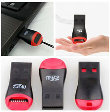 2X Whistle USB 2.0 Micro SD SDHC T-Flash TF Memory Card Reader For MP3 Camera PA