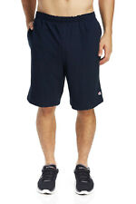 Champion Men's Cotton Jersey 9-Inch Athletic Shorts With Pockets 85653