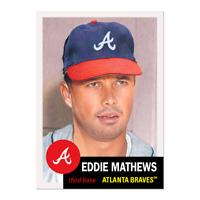 Topps MLB® Living Set® Card #379 - Eddie Mathews Atlanta Braves