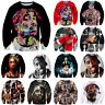 New Men Women Tupac Shakur 2pac Hip Hop Singer 3D Print Sweatshirt Hoodies Tops