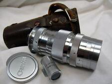 CANON/LEICA RANGEFINDER 135mm f4.0 LENS ,  M39 SCREWMOUNT