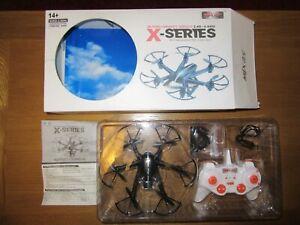 MJX X800 2.4G 6 Axis Gyro 3D Roll Gravity Sensor RC Hexacopter Drone Black