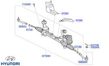 Genuine Hyundai Tucson Power Steering Gear and Linkage Assembly - 57700D7090