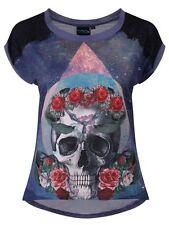 Hips Regular Size Chiffon Floral Tops & Shirts for Women