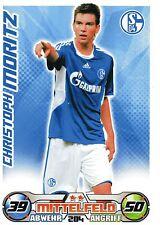 284 Christoph Moritz - FC Schalke 04 - TOPPS Match Attax 2009/2010