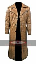 Batman vs Superman Dawn Of Justice Knightmare Leather Trench Coat High Quality
