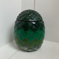 Game Of Thrones Storage Rhaegels Dragon Egg Green Vase Khaleesi Cookie Jar Lid