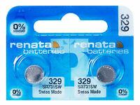 10 x Renata 362 Pila Batteria Orologio Mercury Free Silver Oxide SR721SW 1.55V