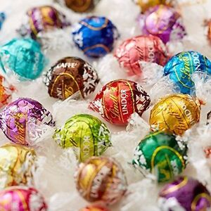 25x Lindt Lindor Assorted Chocolate Truffle To Choose From Wedding Favours