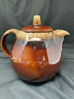Hull Pottery Brown Drip Glaze Teapot Oven Proof Tea Pot USA Vintage Xmas Ready!