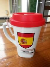 New Rare Nescafe Red Cup Mug Coffee Tea Collectibles Football Euro Flag Spain