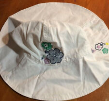 Old Navy Child White Sun Hat S/M( Approx age 2-3)-New- SHIPS FREE