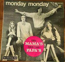the mama's and the papa's 45giri monday monday EP Francia