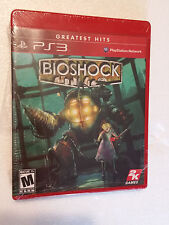 NEW Bioshock (Sony PlayStation 3, 2008) PS3 Greatest Hits Factory Sealed