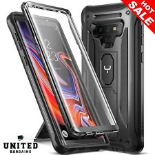 Samsung Galaxy Note 9 Armor Case Full Protective Cover Built-in Screen Protector