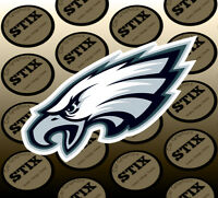 Philadelphia Eagles Logo NFL Die Cut Vinyl Sticker Car Window Hood Bumper Decal