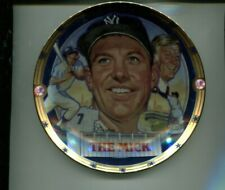 Mickey Mantle Limited Editon 1995 Sport Impressions Plate Original Box 9857L