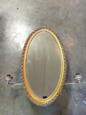Vintage General Bathroom Products  Medicine Cabinet lighted sconces oval mirror