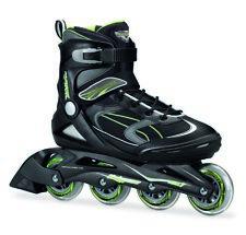 Bladerunner Advantage Pro XT 80mm/abec 7 Black/green Mens Inline Skates Size 11m