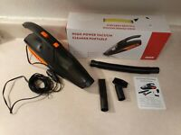 JXY Car Vacuum Cleaner, 12V Corded auto Portable Vacuum Cleaner