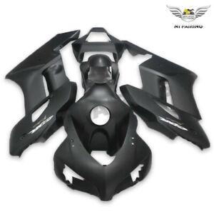 UK Injection Mold Matte Black Fairing Kit Fit for Honda 2004-2005 CBR1000RR o074