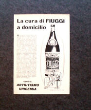 L736 - Advertising Pubblicità - 1960 - ACQUA FIUGGI , LA CURA A DOMICILIO