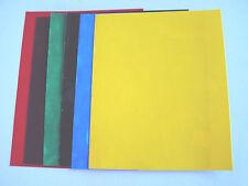 Samttransfer Set mit 6 versch. Farben 25 x 20 cm