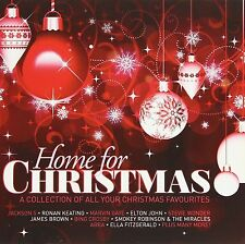 Home For Christmas 2-CD NEW Jackson 5/Elton John/Stevie Wonder/David Essex+