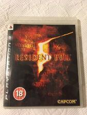 PS3 Spiel RESIDENT EVIL 5 (Playstation Drei)