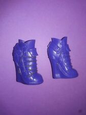 Monster High Doll Clothes Coffin Bean Clawdeen Purple Boots Shoes