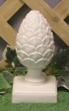 "8"" Small Pineapple Artichoke Finial Latex Fiberglass Production Mold Concrete"