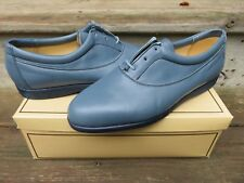 NEW Hanover Ultra Sport Dress Shoes Blue Size 10 M New Old Stock Leather