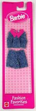 Barbie Fashion Favorites Jean Shorts and Top Ensemble 68000-99 (NEW)