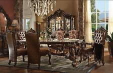 Acme  Versailles 61100-SET-9 Cherry Dining Room Set  Traditional